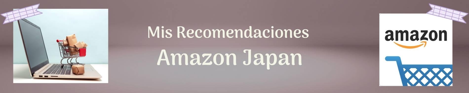 Recomendacion Amazon japan
